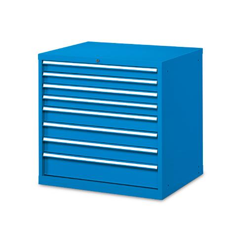 Schubladenschrank, 100 x 102,3 x 72,6 cm (HxBxT), 7 Schubladen