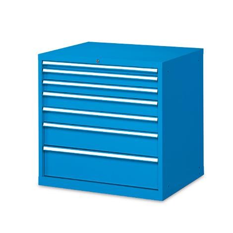 Schubladenschrank, 100 x 102,3 x 72,6 cm (HxBxT), 9 Schubladen