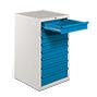 Schubladenschrank BASIC, HxBxT mm: 1000x560x590, 70 kg Tragkraft pro Schublade