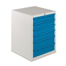 Schubladenschrank BASIC, HxBxT mm: 850x560x590, 70 kg Tragkraft pro Schublade