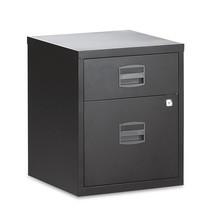Schubladenschrank BISLEY mit Materialschub + Hängeregistratur