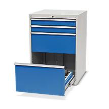 Schubladenschrank für CNC-Werkzeuge, 4 Schubladen, 1 Werkzeugrahmen