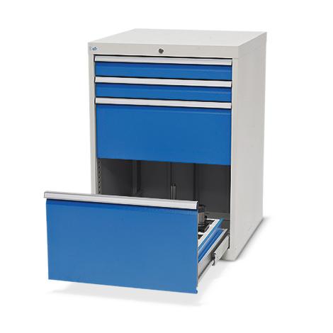 Schubladenschrank für CNC-Werkzeuge, 4 Schubladen, 2 Werkzeugrahmen