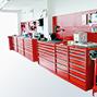 Schubladenschrank, Höhe 100 cm, 85 % Auszug, 6 Schubladen