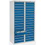 Schubladenschrank Premium mit Rollenführung. 1800 x 1000 mm (H x B)