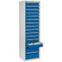 Schubladenschrank Premium mit Rollenführung. 1800 x 500 mm (H x B)