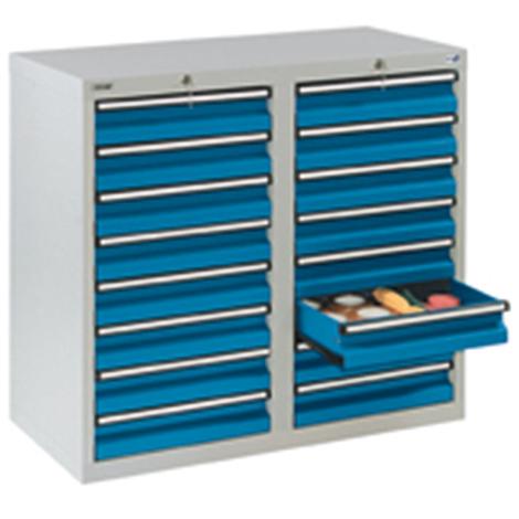Schubladenschrank Premium mit Rollenführung. 900 x 1000 mm (H x B)
