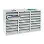 Schubladenschrank Premium mit Rollenführung. 900 x 1500 mm (H x B)