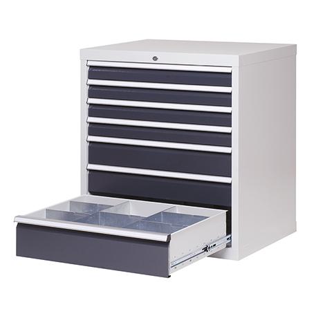 Schubladenschrank Profi, 101,9 x 68 x 50 cm (HxBxT), 6 verschiedene Schubladen