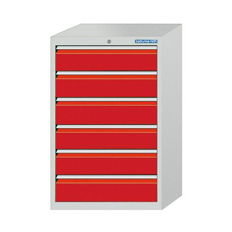 Schubladenschrank Profi, 101,9 x 68 x 50 cm (HxBxT), 7 verschiedene Schubladen