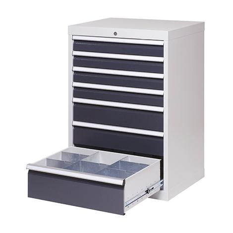 Schubladenschrank Profi, 101,9 x 68 x 50 cm (HxBxT), 8 verschiedene Schubladen