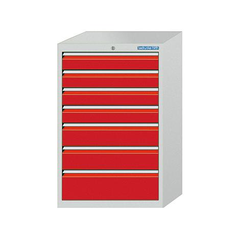 Schubladenschrank Profi, 101,9 x 98 x 50 cm (HxBxT), 6 verschiedene Schubladen