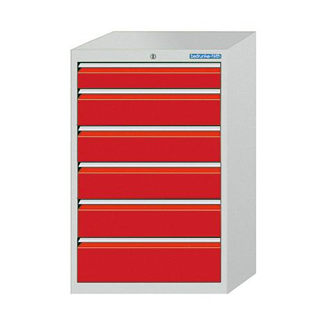 Schubladenschrank Profi, 101,9 x 98 x 50 cm (HxBxT), 7 verschiedene Schubladen