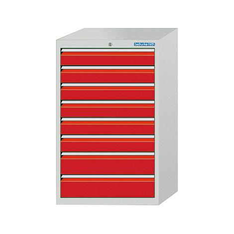 Schubladenschrank Profi, 101,9 x 98 x 50 cm (HxBxT), 9 Schubladen á 10 cm