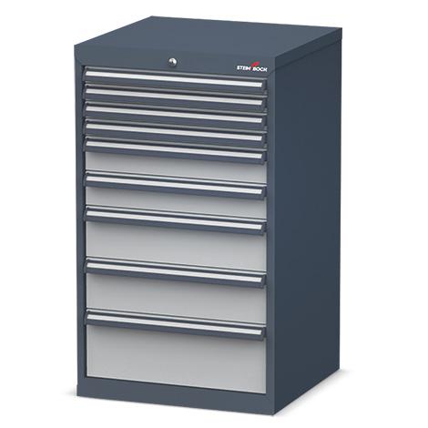 Schubladenschrank Steinbock®. Maße HxBxT mm: 920x700x575