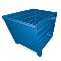 Schüttgutbehälter, lackiert, BxT 600 x 800 mm