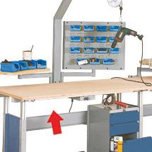 Schukosteckdosen für Aufbaugestell