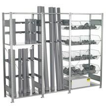 SCHULTE - estante inferior vertical y de estructura alámbrica