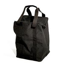 schwarze Nylon-Transporttasche für faltbaren Prospektständer