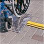 Schwellenbrücke für Rollstühle, Räder, Karren. Tragkraft 300kg