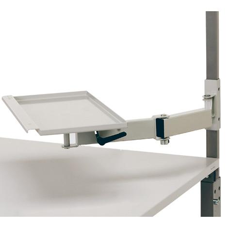 Schwenkarm für Arbeitstisch, BxT 460x210mm