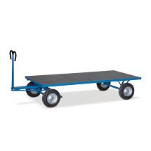 Schwerer Handpritschenwagen Grundausführung. Tragkraft 1500 kg