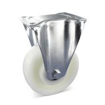 Schwerlast-Bockrolle Polyamid, Stahlblech verzinkt