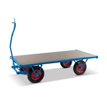 Schwerlast-Handpritschenwagen mit Zugöse. Tagkraft 1500 kg