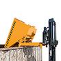 Schwerlast-Kippbehälter Typ 300, Tragkraft 4000 kg, Volumen 0,3 m², lackiert