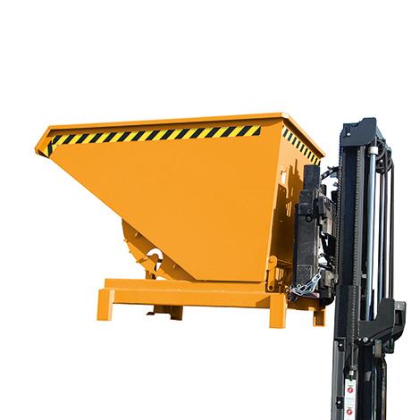 Schwerlast-Kippbehälter Typ 900, Tragkraft 4000 kg, Volumen 0,9 m², lackiert