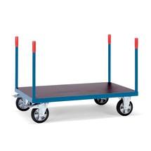 Schwerlast-Plattformwagen fetra®, mit Rungen