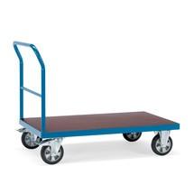 Schwerlast-Plattformwagen fetra®, mit Schiebebügel