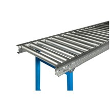 Schwerlast-Rollenbahn, Stahlrohrrollen