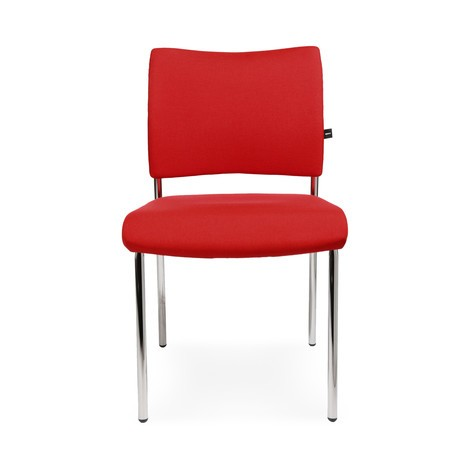 Sedia per le sale di attesa Topstar® Classic con schienale imbottito