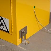 Seismisches Halterungs-Set für Justrite® Sicherheitsschränke