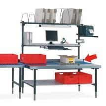 Seitenführung für Hüdig + Rocholz Packtisch-System