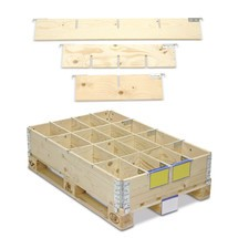 Séparateur pour rehausse en bois