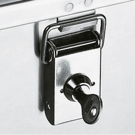 Serratura a cilindro per cassa per il trasporto in alluminio Profi