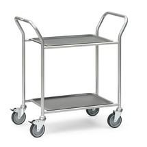 Servierwagen fetra® mit abnehmbaren Tabletts