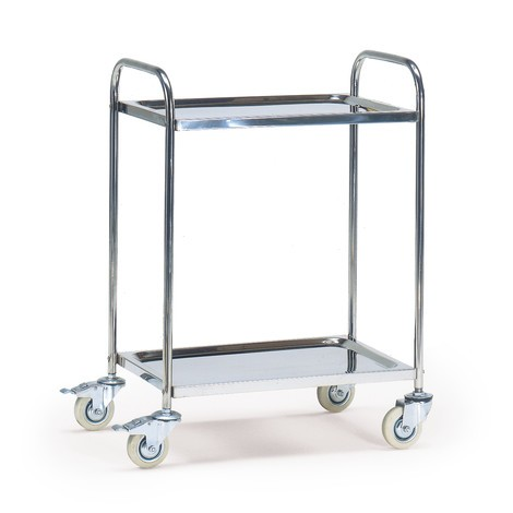 Servierwagen HUPFER® aus Edelstahl