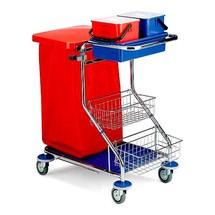 Servisný vozík chróm