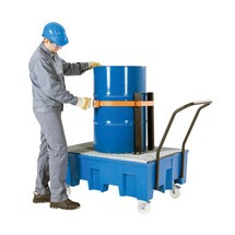 Set di fissaggio di carichi per vasca di raccolta asecos® in PE