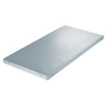 Shelf for META shelf rack, boltless, shelf load 230 kg, galvanised