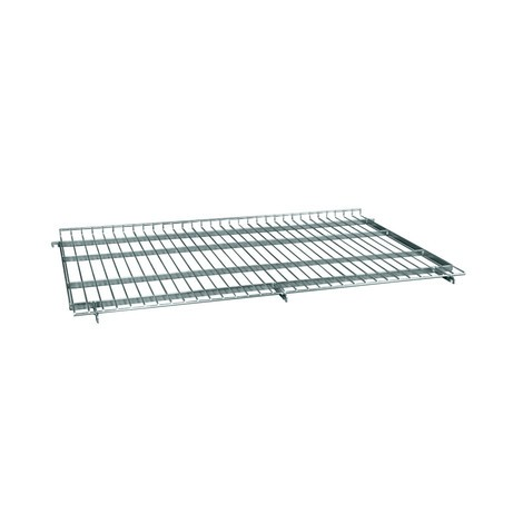 Shelf for steel roll container in euro dimensions