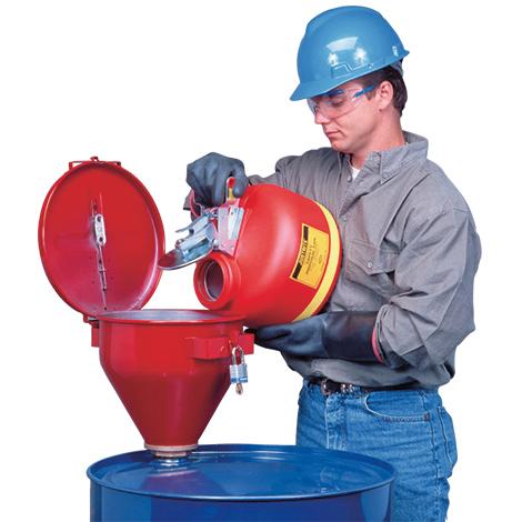 Sicherheits-Fasstrichter für 200-Liter-Fässer