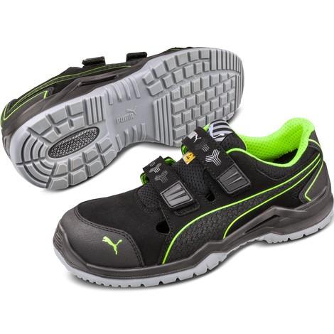 Sicherheits Sandale PUMA® Neodyme Green S1P ESD