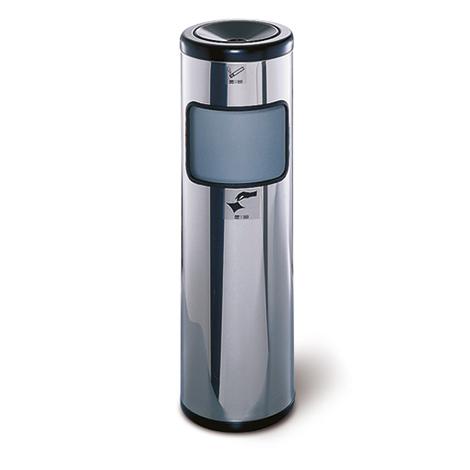 Sicherheits-Standascher mit Abfallbehälter