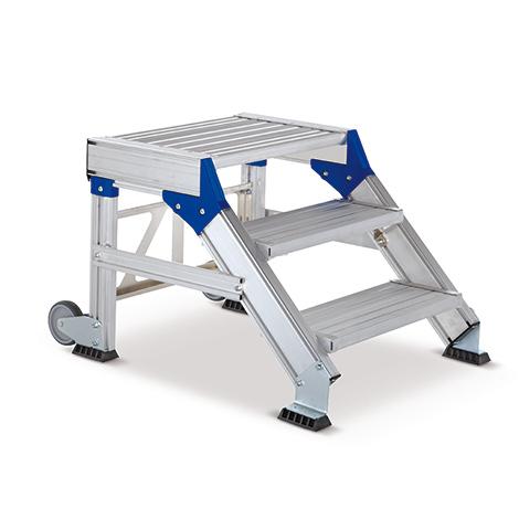 sicherheits tritt 2 bis 5 stufen tragkraft 300 kg. Black Bedroom Furniture Sets. Home Design Ideas