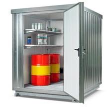 Sicherheitslager SRC-TB für wassergefährdende, temperaturempfindliche Stoffe