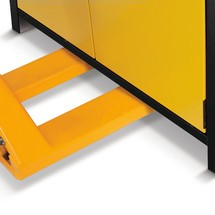 Sicherheitsschrank asecos® Q-PEGASUS/Typ 90, 3 Fachböden, HxBxT 1.953 x 1.193 x 615 mm